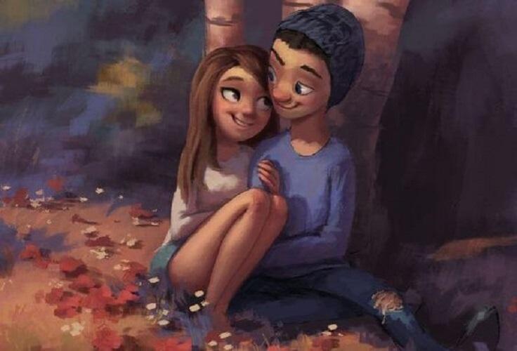 No busco a alguien que me haga feliz, sino con quien compartir mi felicidad