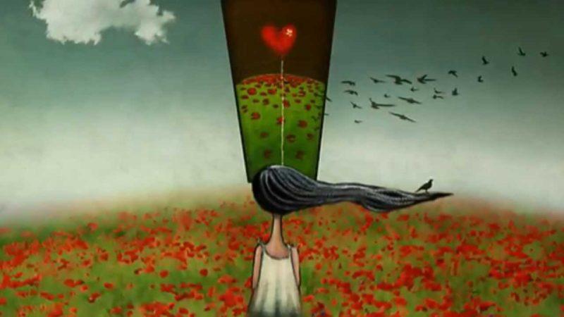 Enamórate de alguien que te haga sentir que el amor es bonito, no difícil