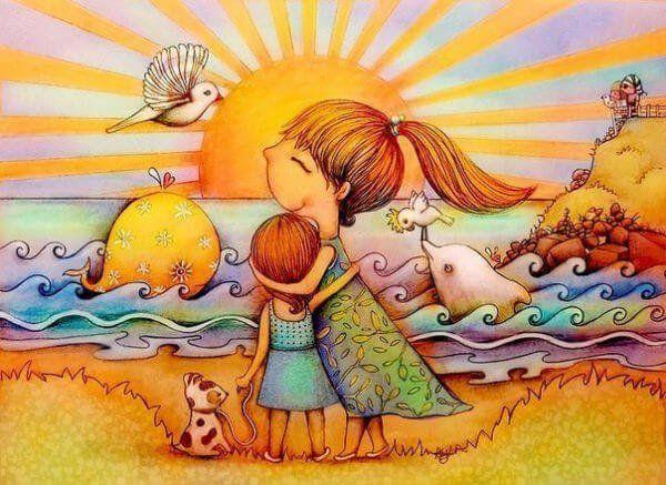 Lo más valioso que le podemos dar a un niño es nuestro amor y nuestro tiempo