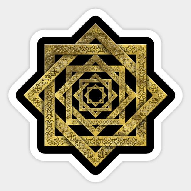 símbolos místicos estrella de Lakshmi