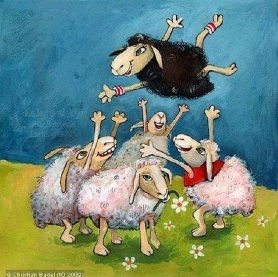 Si eres la oveja negra de tu familia, quizás seas el sueño realizado de todos tus ancestros