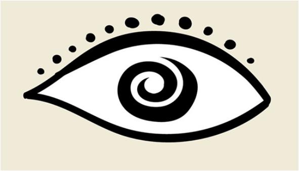 el ojo de personalidad extraña
