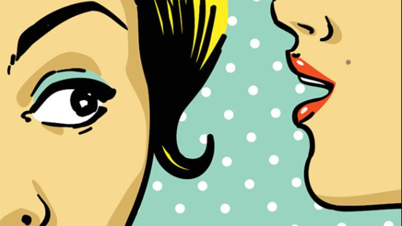 No hablar mal de nadie es una excelente manera de hablar bien de ti