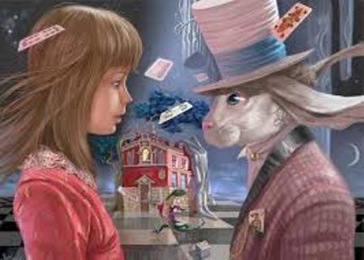 –Pero, ¿tú me amas?… Fábula de Alicia y Conejo Blanco