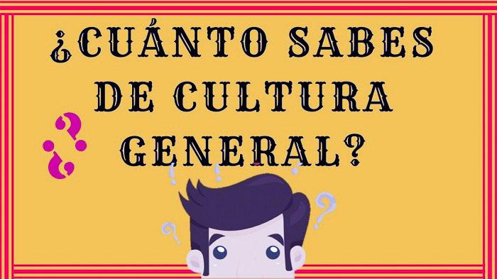 Intenta aprobar este Quiz básico sobre cultura general