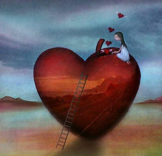 Si un corazón no se abre, no empujes, no hales… No es tu puerta