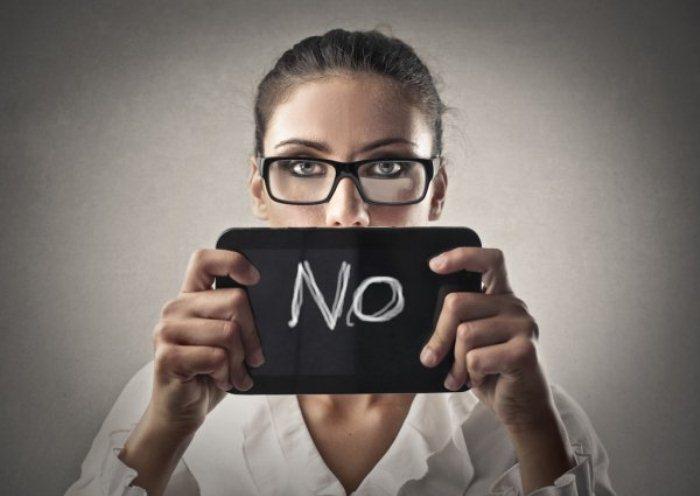 Cuando debas decir NO, hazlo… y no te sientas mal por haberlo hecho