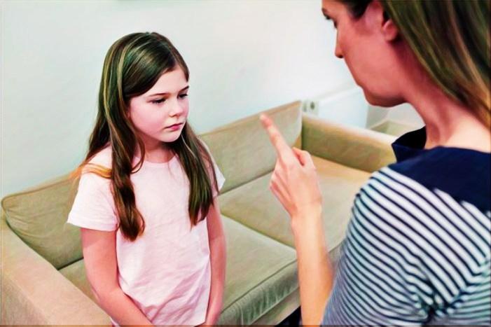 Criticar a un niño