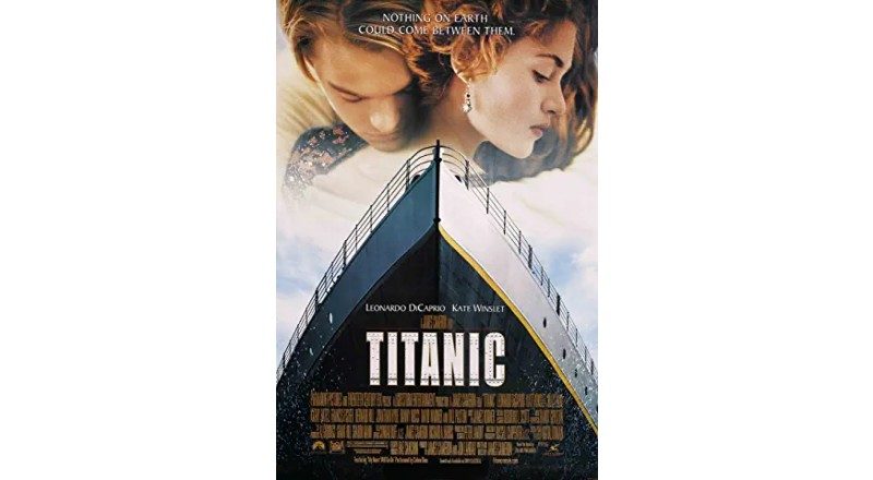 Portada de la película Titanic